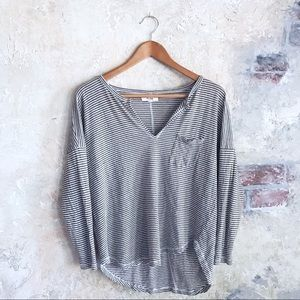 Casual Striped Madewell top